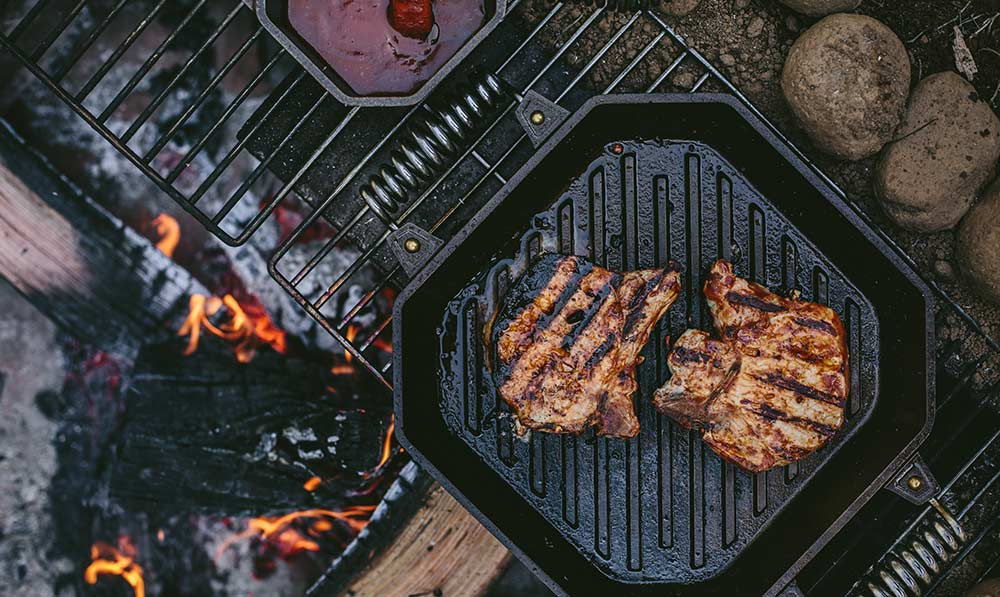 FINEX Brand Assets - Summer Grilled Pork Chops