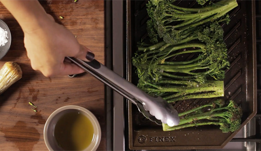 FINEX Brand Asset Preview - Grill Pan Greens