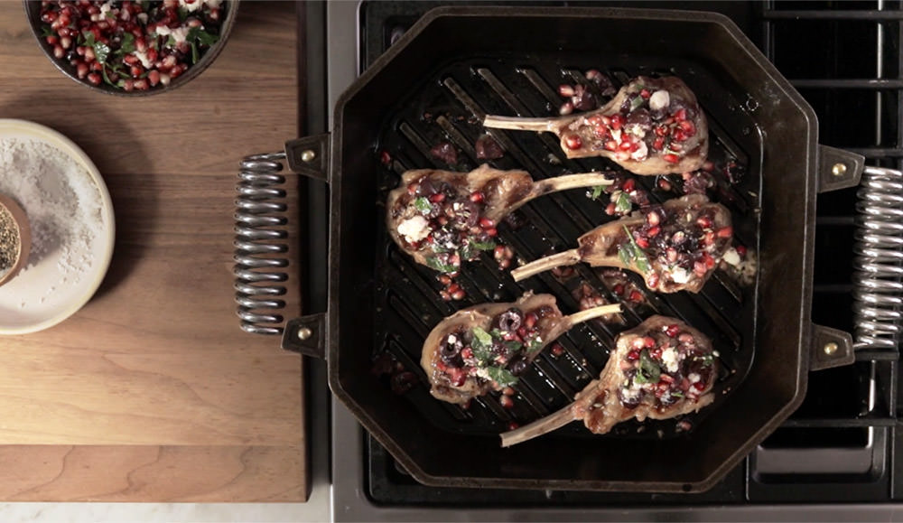 FINEX Brand Asset Preview - Lamb Chops with Pomegranate Relish